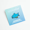 Shark Friends! – Vegan Shark Enamel Pin