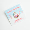 Santa Cat Enamel Pin