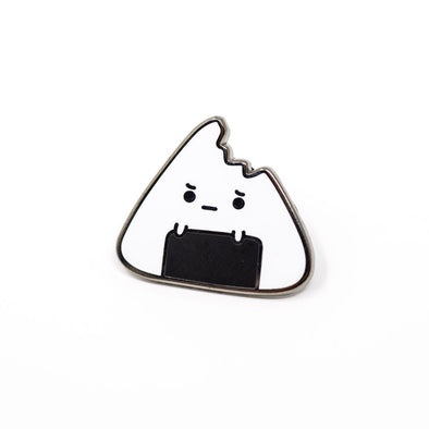 Poor Little Onigiri Enamel Pin