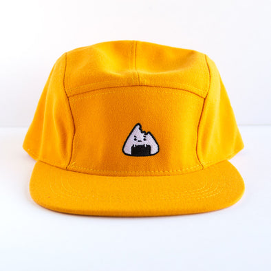 Poor Little Onigiri Hat - Yellow/Orange
