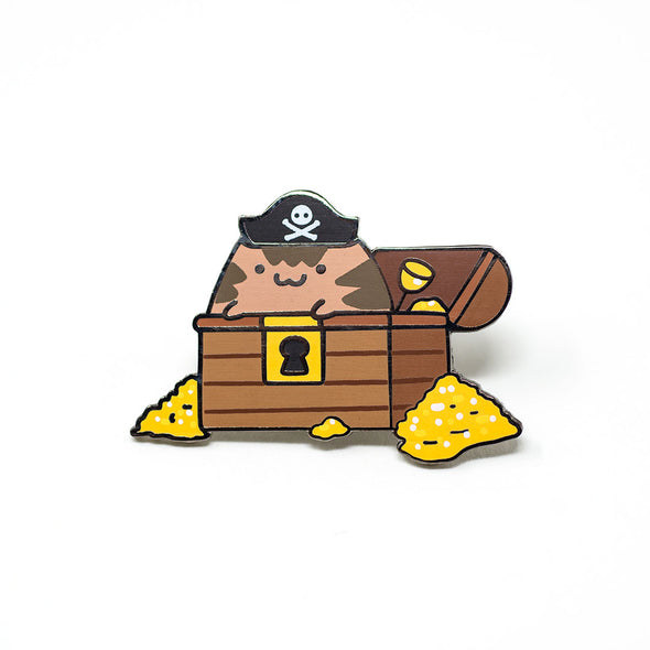 Pirate Cat - Ohayo-Neko Series 1 - Enamel Pin