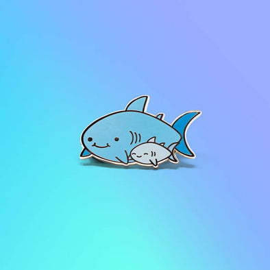 Shark Friends! – Baby Shark Enamel Pin