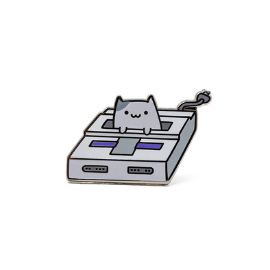 Game Cat - Ohayo-Neko Series 2 - Enamel Pin