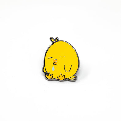 Sleepy Ducky Enamel Pin