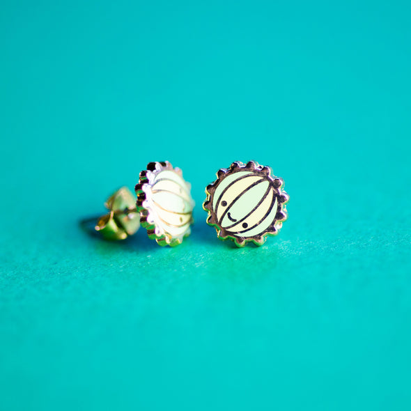 Cactus Ball Earrings