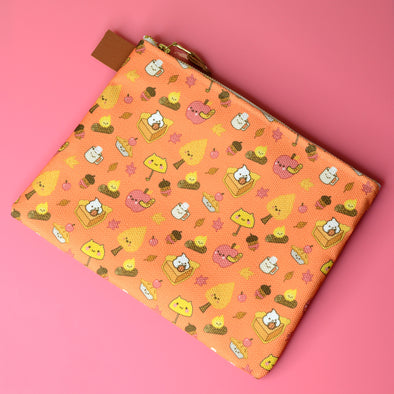 Happy Fall Zipper Pouch