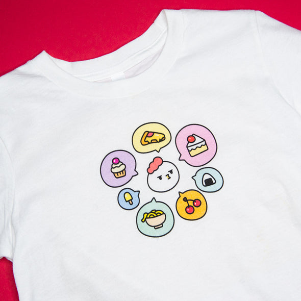 Grumpy Chicken Tees - All The Foods I Want