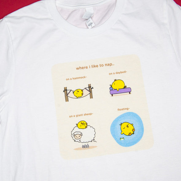 Grumpy Chicken Tees - Favorite Naps