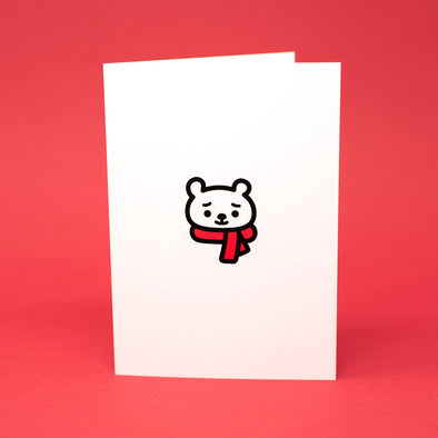 Holiday Bear Greeting Card