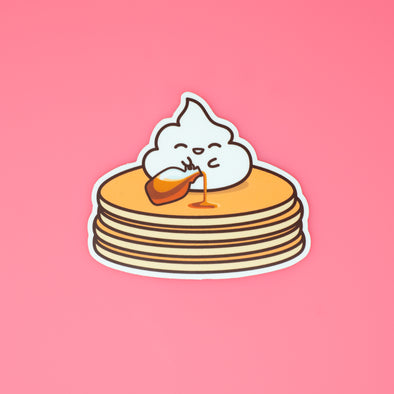 Lil' Whip Pancake Sticker