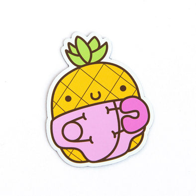 Limited Run - Pink Baby Pineapple Magnets