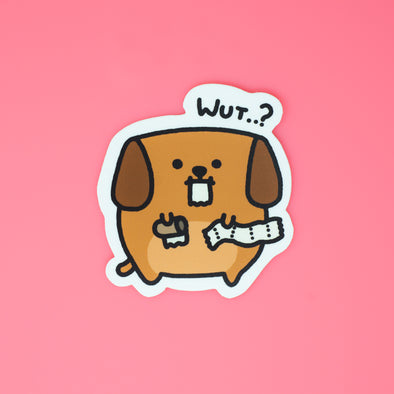 Mocha Doggo Sticker - Toilet paper