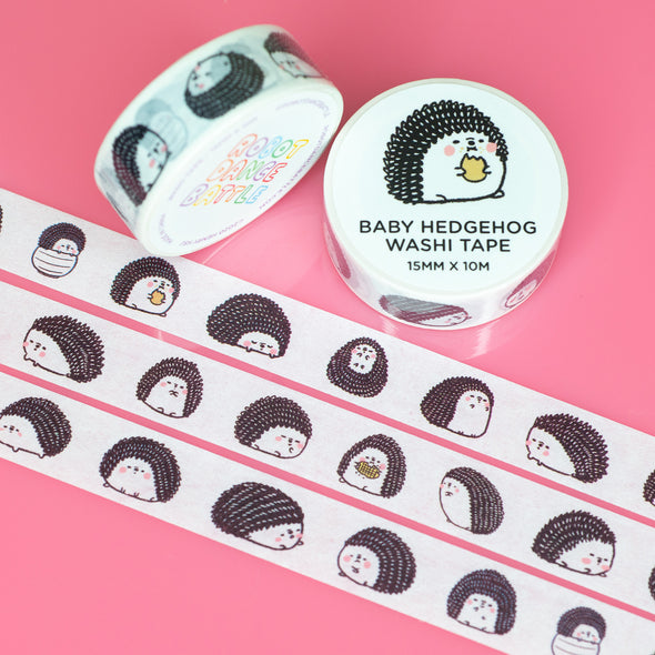 Baby Hedgehog Washi Tape