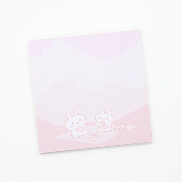 "Miki the bunny notepad - 3x3"", 50 sheets, non-sticky"
