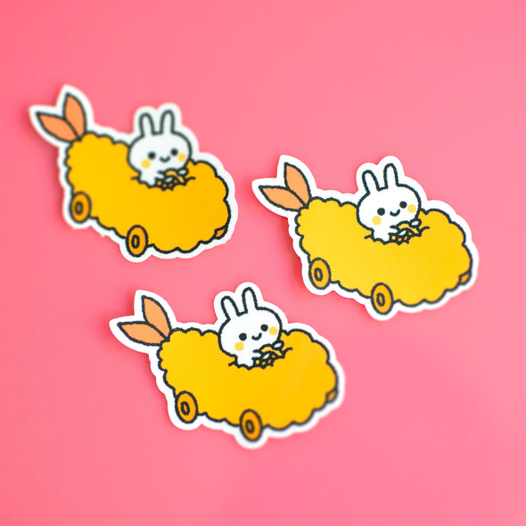 Bunny Tempura Car Sticker