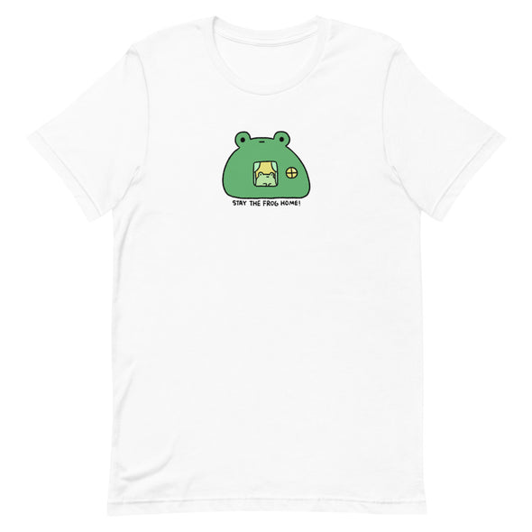 Stay The Frog Home Short-Sleeve Unisex T-Shirt