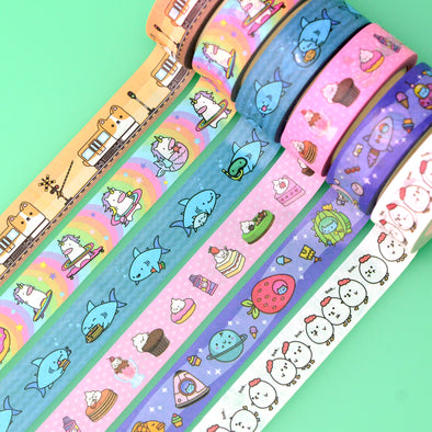 Washi Tape - Complete set of 6!