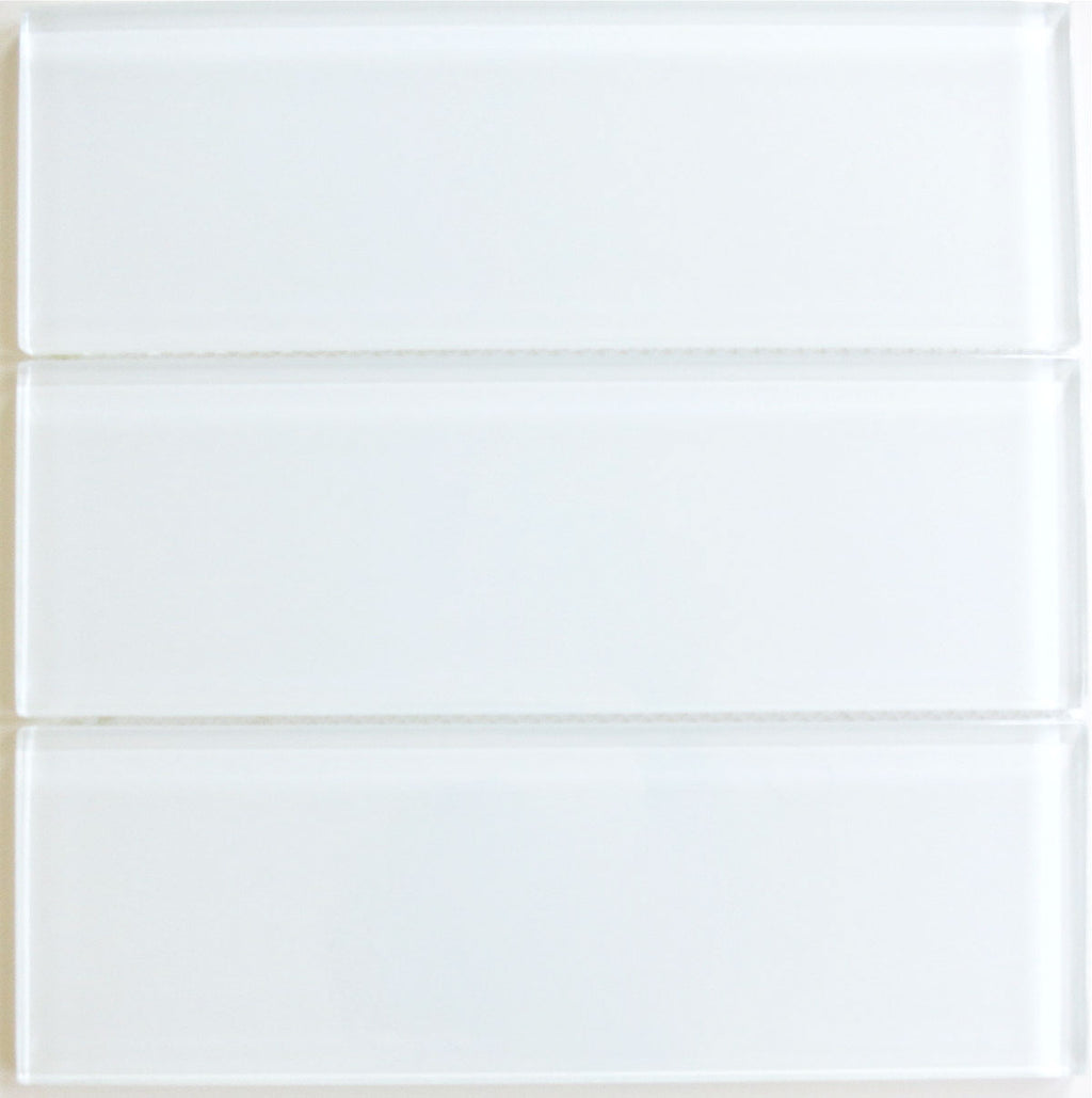 Modwalls Lush Glass Subway Tile | Cloud 4x12 | Modern tile for backsplashes, kitchens, bathrooms, showers