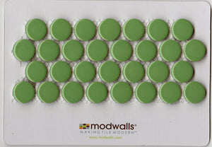 Sample of ModDotz Mojito Porcelain Tile Penny Rounds