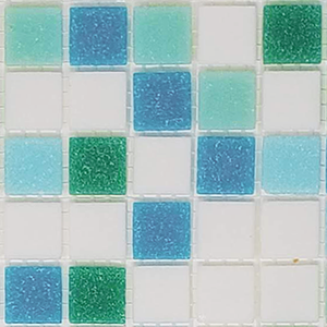 Modwalls Brio Glass Mosaic Tile | Fresh Blend Sample| Modern tile for backsplashes, kitchens, bathrooms, showers, pools, outdoor and floors