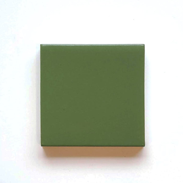 Sample Basis Collection Color Chip | Kelly Green Matte