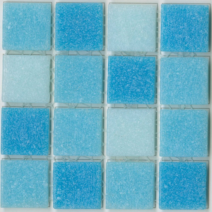 Sample of Brio Glass Mosaic Tile | Morningside Blend