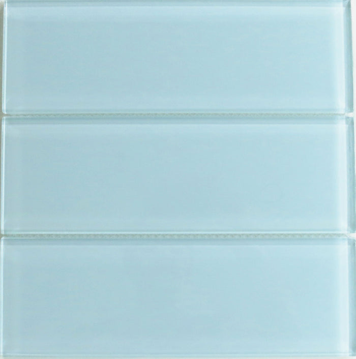 Lush Glass Subway Tile | Vapor 4x12