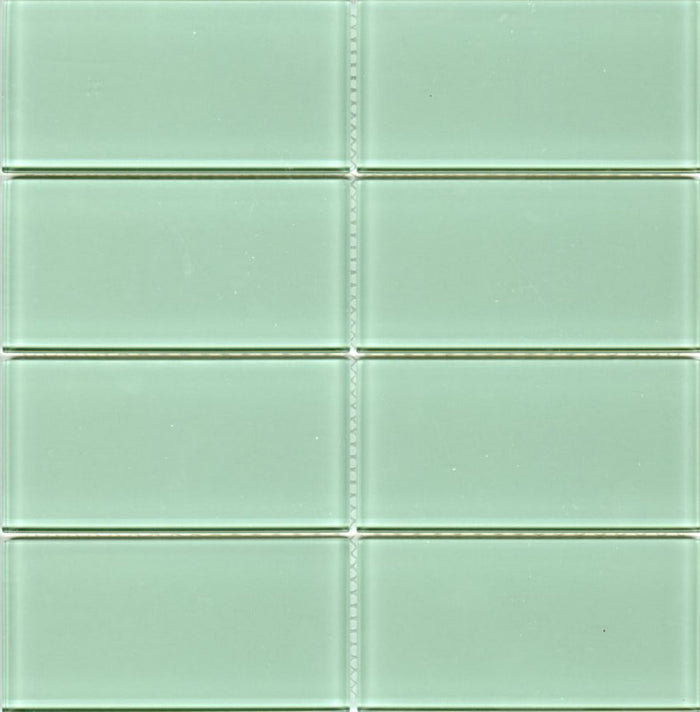 Lush Glass Subway Tile | Surf 3x6
