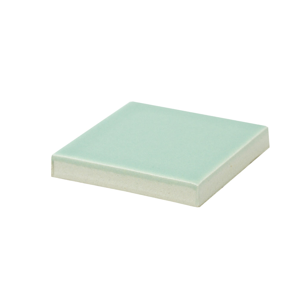 Modwalls Sample Kiln/Clayhaus Ceramic Collections Color Chip | Mint Green