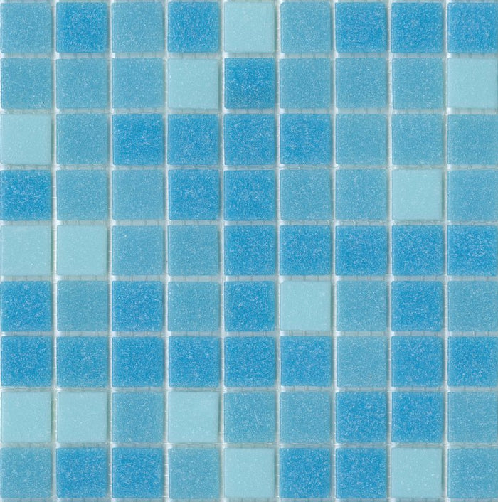 Brio Glass Mosaic Tile | Morningside Blend