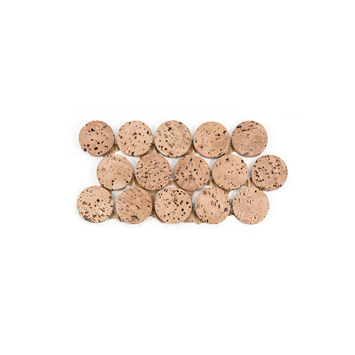 CorkDotz Cork Penny Round Tile | Sample