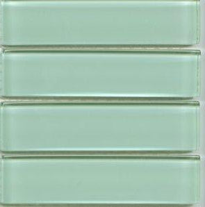 Sample Lush Glass Subway Tile |  Surf 1x4 - Modwalls