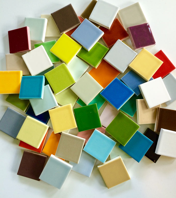 Sample Color Chips for Clayhaus 2x8 Blend Magnificent Seven - Mag 7