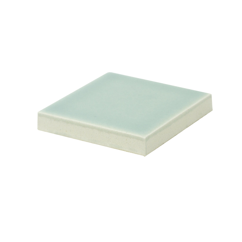 Modwalls Sample Kiln/Clayhaus Ceramic Collections Color Chip | Robin's Egg Matte Blue/Green