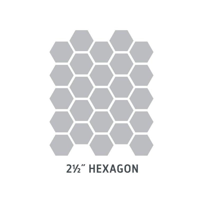 "2 1/2"" Hexagon"