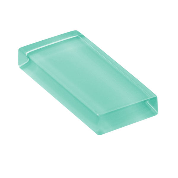 Lush Custom Glass Tile | Aqua Green