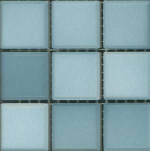 Sample of Mediterranean Mosaic Tile | Barcelona Blend Matte
