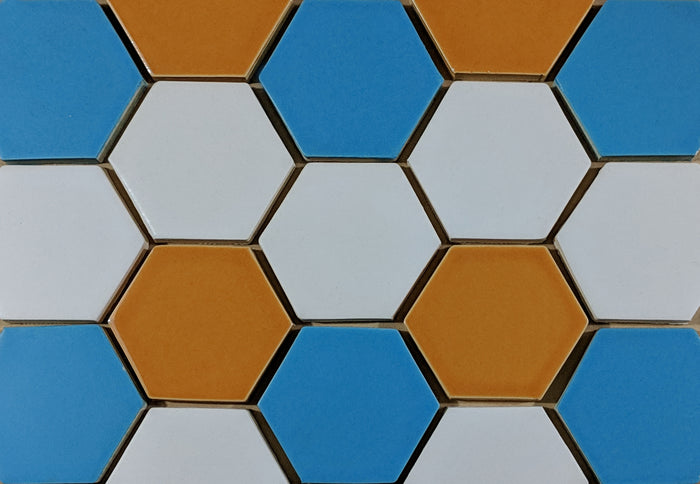 "Basis Hexagon 3"" Ceramic Floor Tile 