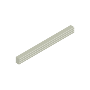 Basis Ceramic Fluted Liner Trim Tile