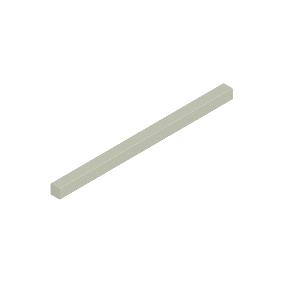 Basis Ceramic Pencil Liner Trim Tile