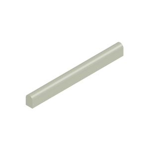 Basis Ceramic Small Half Round Trim Tile