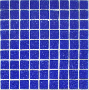 Modwalls Brio Glass Mosaic Tile |  Cobalt | Modern tile for backsplashes, kitchens, bathrooms, showers, pools, outdoor and floors