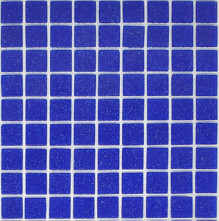 Brio Glass Mosaic Tile | Cobalt