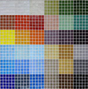 Brio Glass Mosaic Tile | Custom Blend Sample Swatch