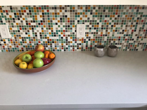 Brio Glass Mosaic Tile | Highlands Blend