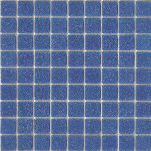 Modwalls Brio Glass Mosaic Tile | Bluebird