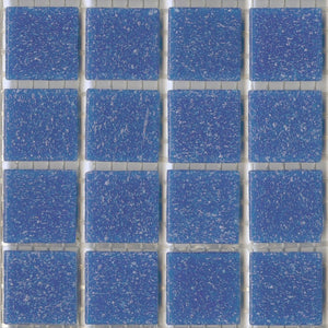 Sample of Bluebird Brio Mosaic Glass Tile | Modwalls Designer Tile