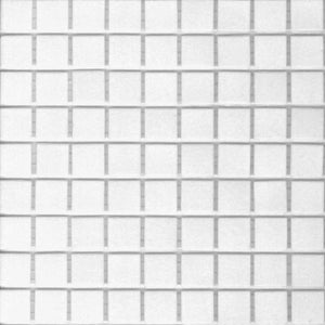 Modwalls Brio Glass Mosaic Tile | Bright White | Modern tile for backsplashes, kitchens, bathrooms, showers, pools, outdoor and floors