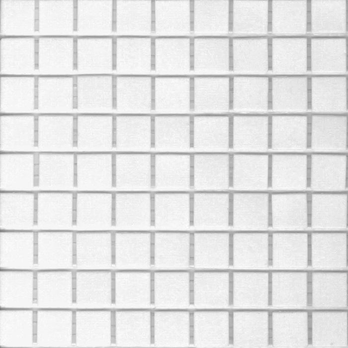 Brio Glass Mosaic Tile | Bright White