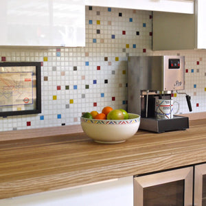 Brio Glass Mosaic Tile |  Bayview Blend